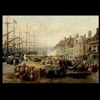 dunkerque, quais de hollendais by p. ling