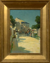 street scene by frank otis small