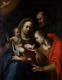den heliga familjen by jacob oost the elder