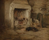 burns cottage in by robert l. alexander