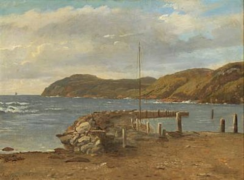 coastal scenery at kullen by peter johann p raadsig