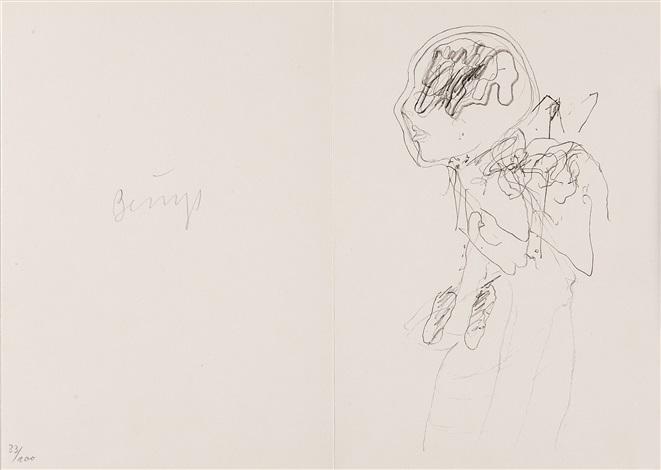 zeichnungen zu leonardo codices madrid bk w81 works 1 loose lithograph by joseph beuys