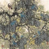 autumn foliage by liang shimin
