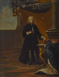 kurfürst und erzbischof franz ludwig von pfalz-neuburg by pieter jacob horemans