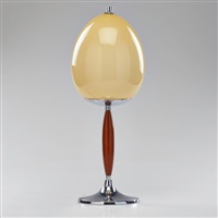 table lamp by wmf co. (württembergische metallwarenfabrik)