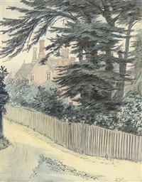 juniper hall, mickleham, surrey (+ 7 illus.; 8 works) by hugh thomson