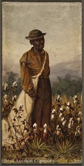 male cotton picker by william aiken walker
