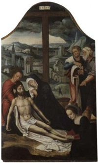 die beweinung christi by flemish school-brussels (15)