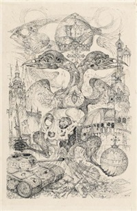 februar 1918 (doppeladler) by michael coudenhove-kalergi