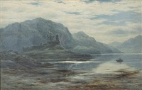 eilan donan castle by john james bannatyne