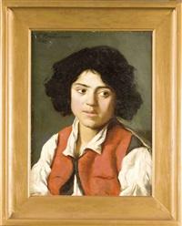 reizvolles portrait eines italienischen jungen by frieda menshausen-labriola