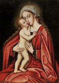 madonna mit kind by dutch school-southern (16)