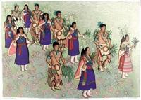 harvest dancers by alice asmar