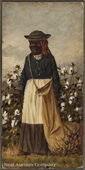female cotton picker by william aiken walker