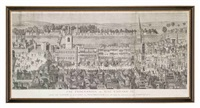 the procession of king edward vi from the tower of london to westminster feb xix, mdxlvii previous to his coronation by james basire the elder