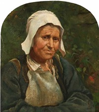an old woman from brittany by emilie (caroline e.) mundt