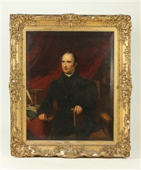 portrait of charles digby, canon of windsor, son of hon digby and dady lucy strangway-fox by british school (19)