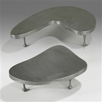 nesting tables (in 2 parts) by frederick j. kiesler