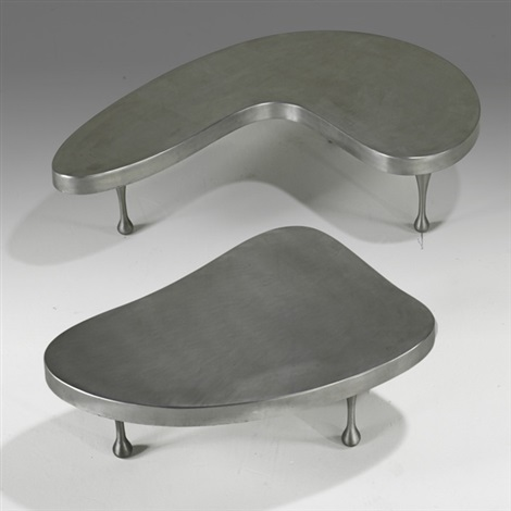 nesting tables in 2 parts by frederick j kiesler