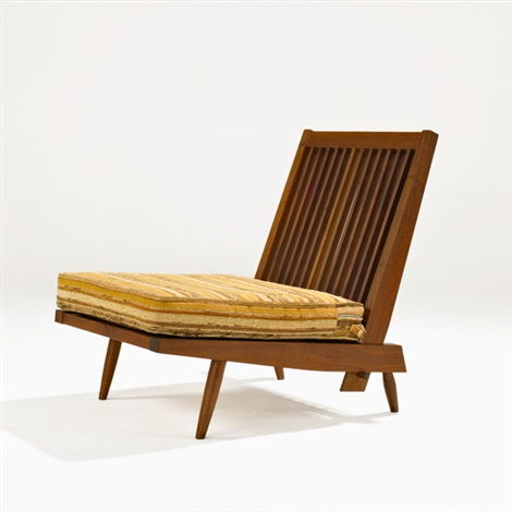 cushion chair by george nakashima