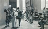 am eingang zum vatikan by hans beat wieland