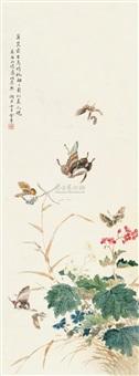 彩蝶翩翩 (butterfly) by jin zhang