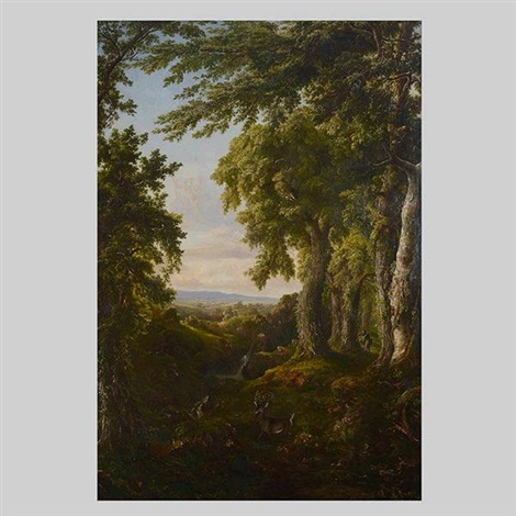 the hunter by thomas cole