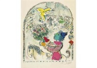 le cirque a l'ange by marc chagall