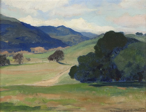 carmel valley by arthur hill gilbert
