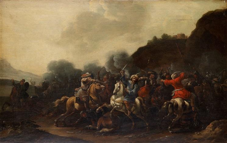 kavalleribatalj by simon johannes van douw