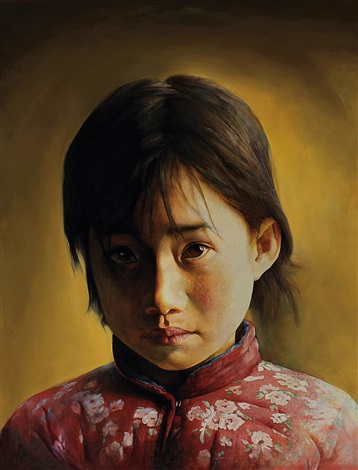 女孩 girl by liu derun