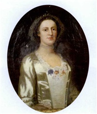 portrait of a woman by john wollaston