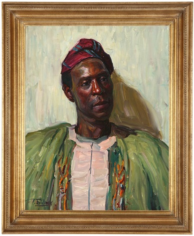 portrait of an african man by tim solliday