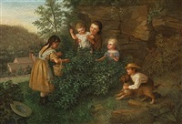 discovering the birds nest by enoch wood perry