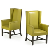 tallback armchairs (pair) by john hutton