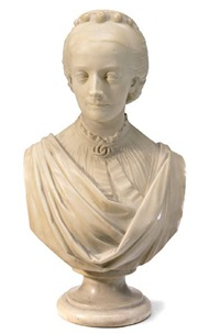bust of a lady by james a. ewing