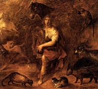 propheus bezaubert mit seinem spiel die tiere by david colyns