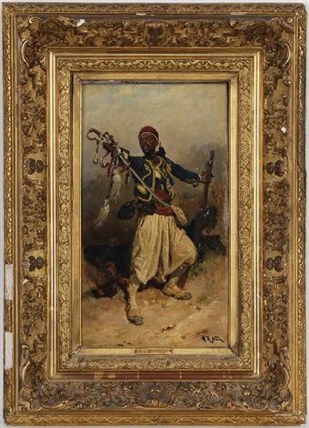 le zouave by alphonse marie de neuville