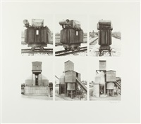 transformator und silo by bernd and hilla becher