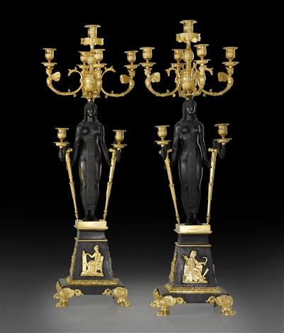 candelabras a pair nicholas i