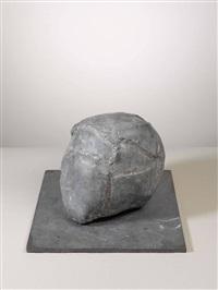 geschlossener helm (in 2 parts) by anatol (karl heinz herzfeld)