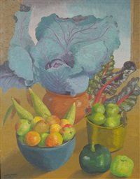 garden produce by sir cedric lockwood morris