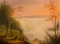 niagara falls by rembrandt peale