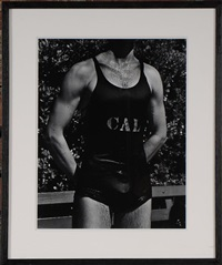 the swimmer, san francisco by john gutmann