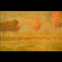 autumn landscape by george inness