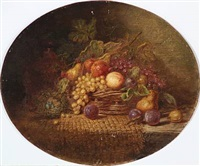 still life fruit by walter herbert roe
