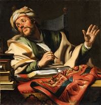 the steadfast philosopher by gerrit van honthorst