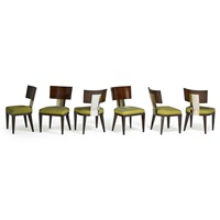 dining chairs (6 works) by john hutton