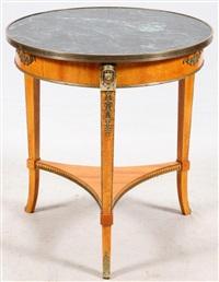 JOHN WIDDICOMB GRAND RAPIDS MI MARBLE TOP 1940 John Widdicomb Furniture