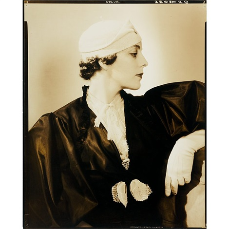 mrs peter f chambers vogue by edward steichen